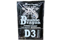 Спиртовые турбо дрожжи  DoubleDragon D3 Carbon