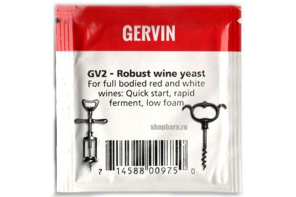 Винные дрожжи Gervin GV2 Robust Wine